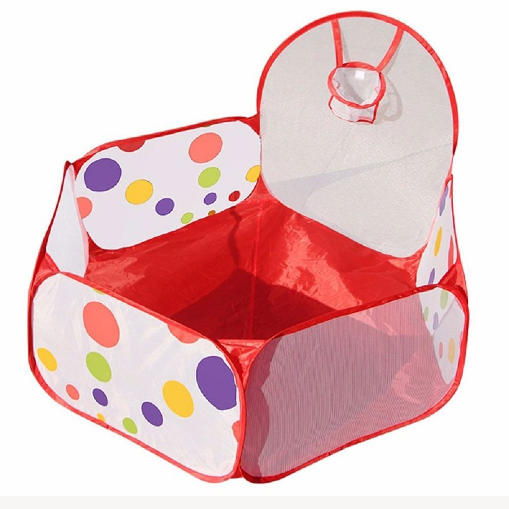 Finevips Foldable Ocean Balls Pit Kids Indoor Outdoor Ball Shooting Play Tent 1.2M