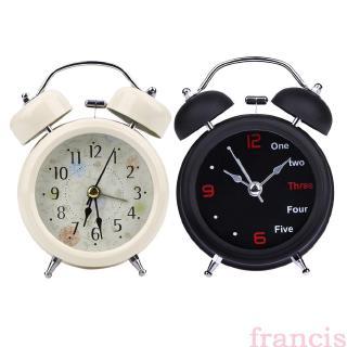Yêu ThíchĐồng hồ báo thức francis phong cách Retro thiết kế để bàn tiện dụng