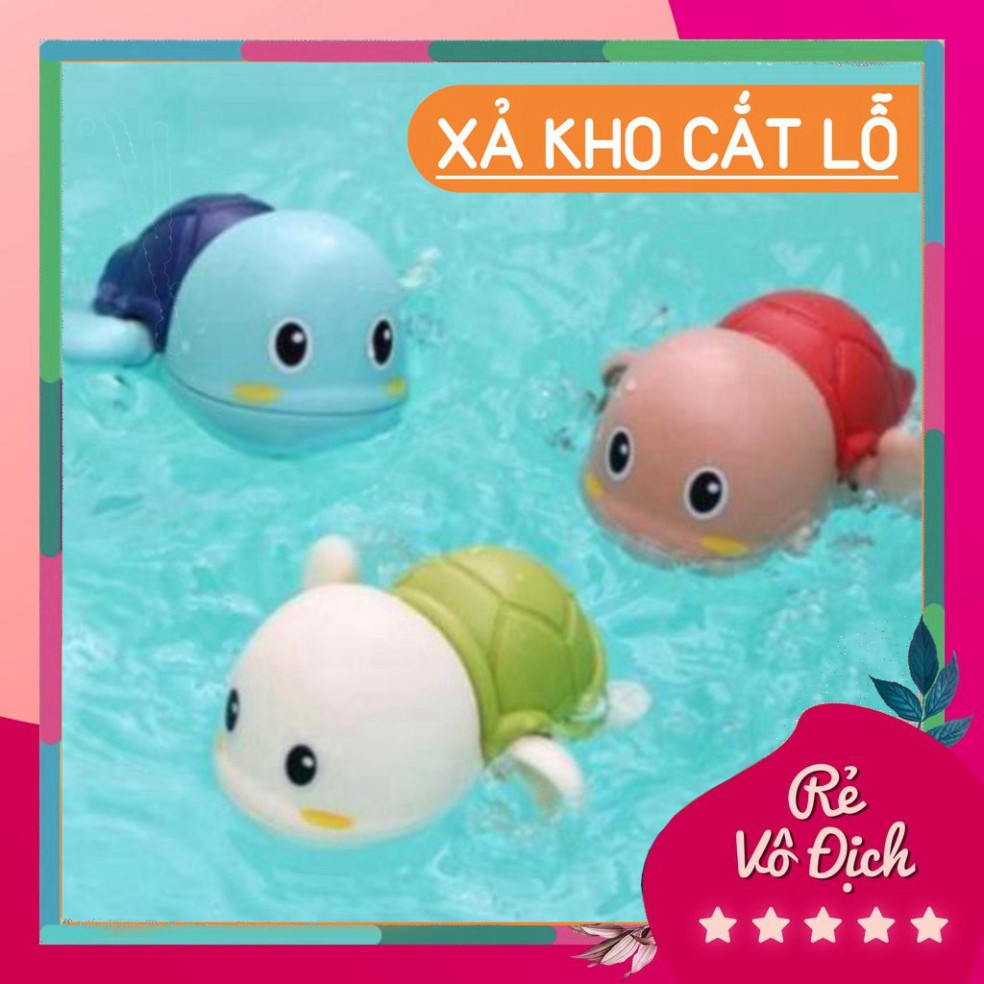 Đồ chơi nhà tắm con rùa biết bơi sale88