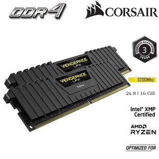 [VOUCHER 80K]Bộ Nhớ Trong RAM PC CORSAIR VENGEANCE LPX 16GB DDR4 2x8G 3200MHz CMK16GX4M2E3200C16 thumbnail