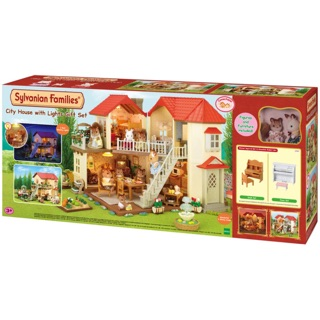 Sylvanian Family – City House with light gift set