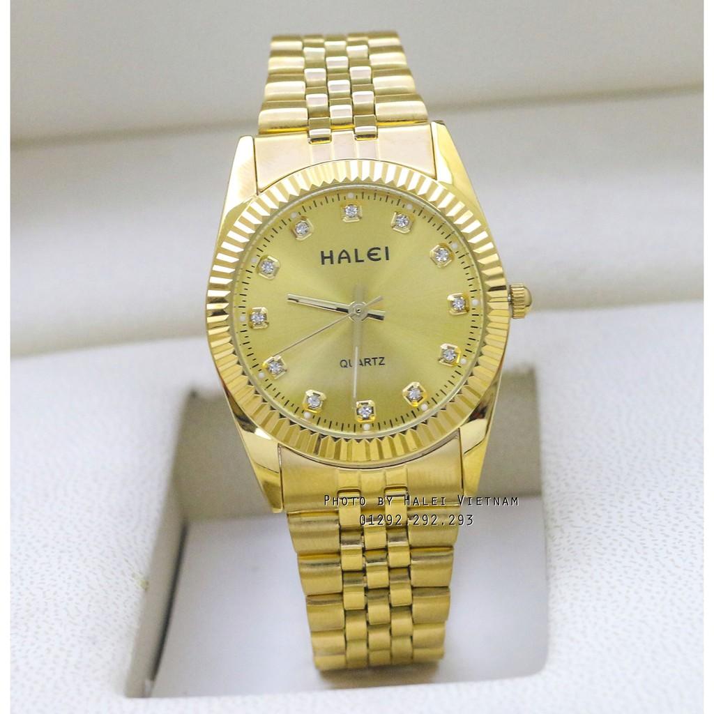 Đồng hồ nam HALEI 356 vàng kim chống nước dây thép không gỉ - 3477093 , 1228128262 , 322_1228128262 , 250000 , Dong-ho-nam-HALEI-356-vang-kim-chong-nuoc-day-thep-khong-gi-322_1228128262 , shopee.vn , Đồng hồ nam HALEI 356 vàng kim chống nước dây thép không gỉ