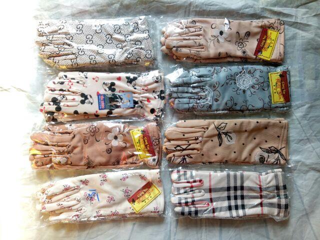 Gang tay chống nắng 2 lớp dày - nhiều màu