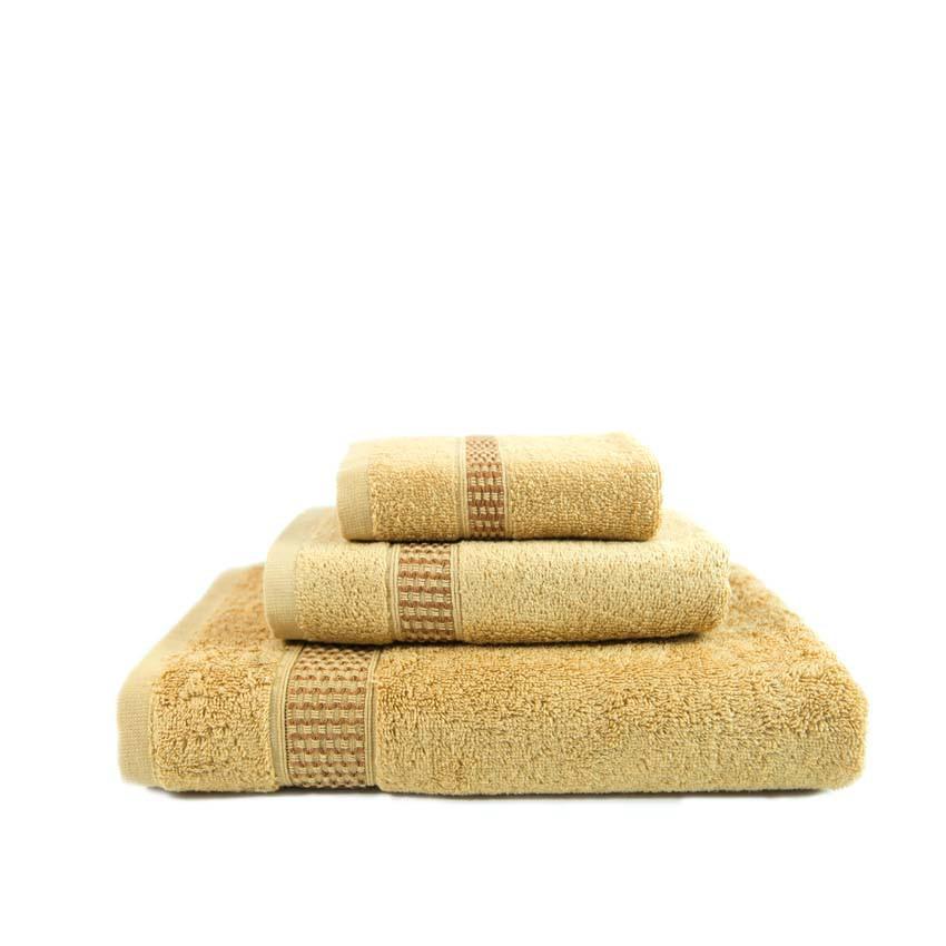 01 khăn tay khách sạn, spa 100% cotton Mollis - HM58 34 x 42 cm