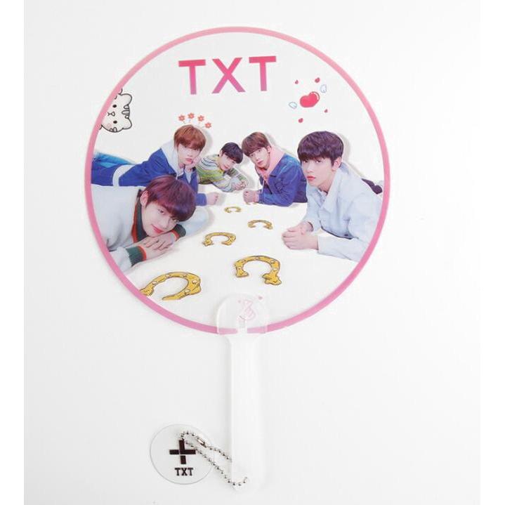 KPOP Transparent Fan OFFICAL Official TXT