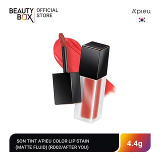 Son Tint A Pieu Color Lip Stain (Matte Fluid) (Rd02 After You) 4.4g