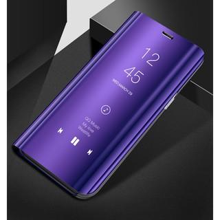 Bao da điện thoại trán gương nắp lật thông minh cho Samsung Galaxy J7 2016/ J7 Pro/ J7 Prime