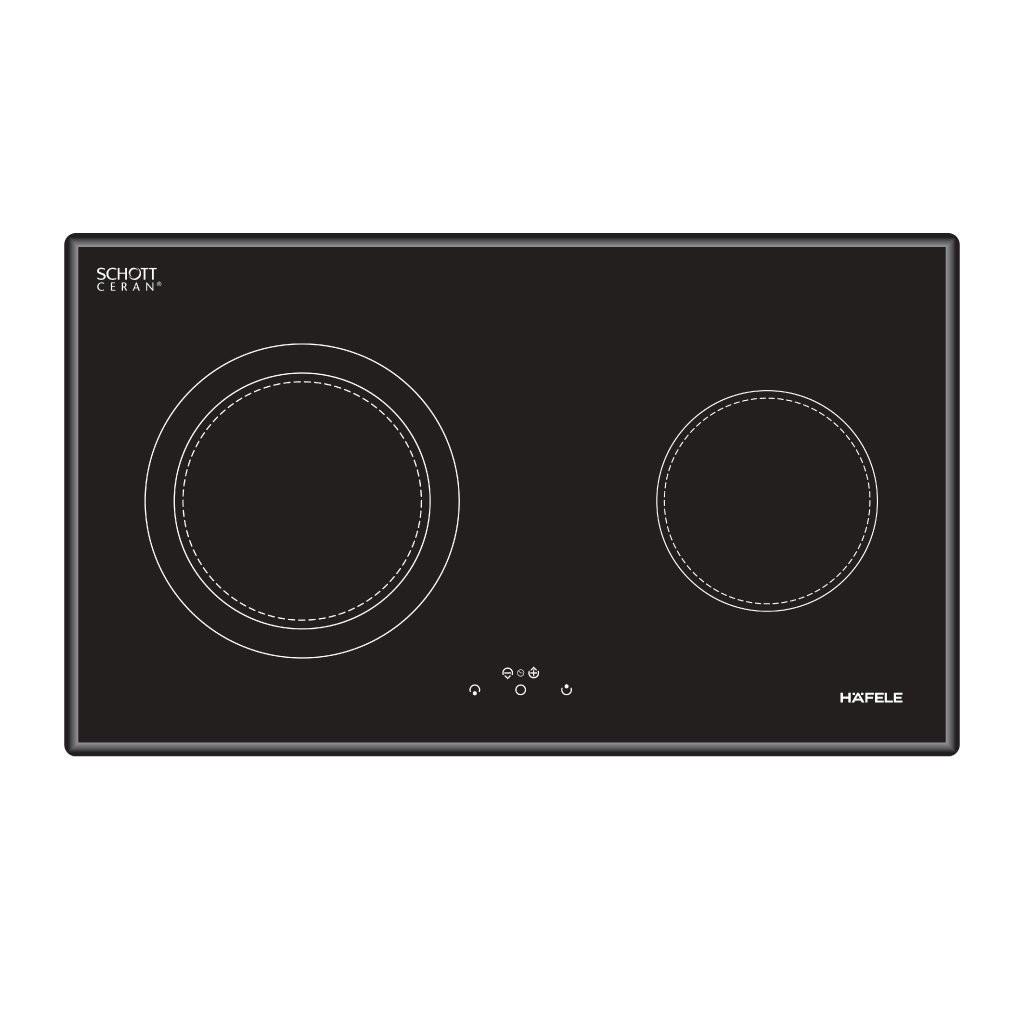 Bếp điện 2 vùng nấu 80cm HC-R772A