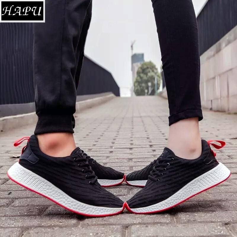 [FREE SHIP, Sỉ từ 2 đôi, VIDEO thực tế] Giày sneaker cặp đôi siêu hot NMD001 (Đen, trắng)