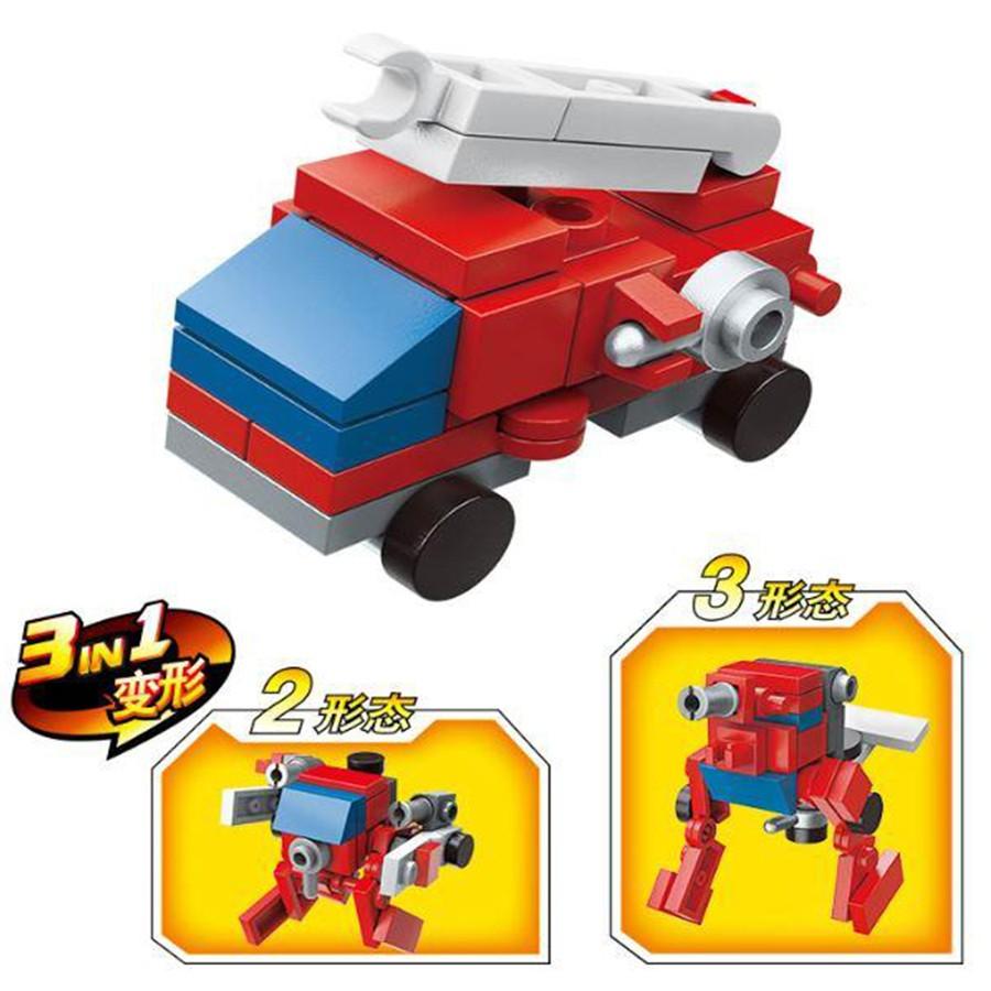 FULL SET ĐỒ CHƠI LẮP RÁP KIỂU LEGO 10 MÔ HÌNH XẾP HÌNH ENLIGHTEN 2104