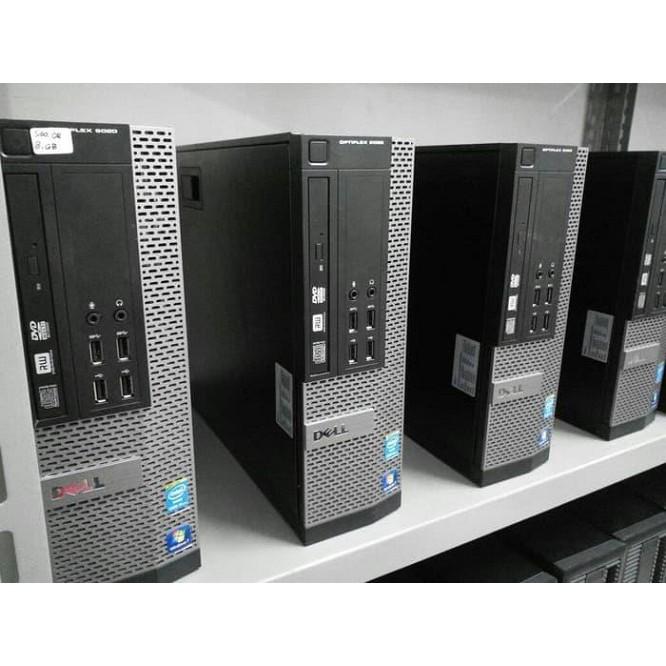 Máy tính đồng bộ Dell 9020 SFF(Main H81)(Intel® Core™ i3-4130 Processor (3M Cache, 3.40 GHz),Ram 4Gb,HDD 250GB)