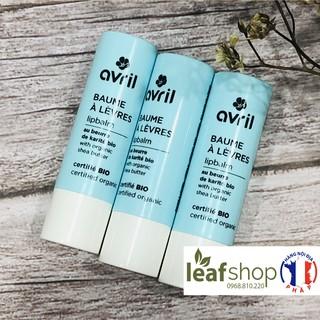 Son dưỡng môi bơ hạt mỡ hữu cơ Avril 4g