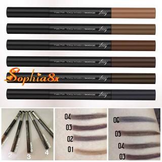 Chì kẻ mày TFS Designing Eyebrow Pencil 2 đầu 01-06 dùng siêu thích thumbnail