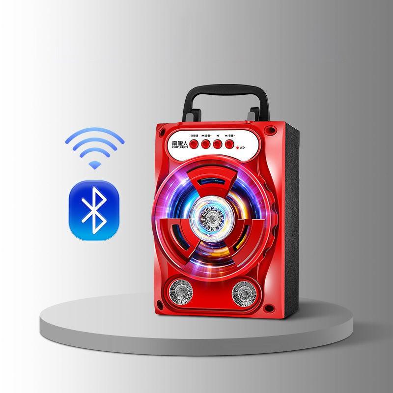 Loa Karaoke Nghe Nhạc Mini Công Suất Lớn Tặng Kèm Micro Thế Hệ Mới Đa Chức Năng