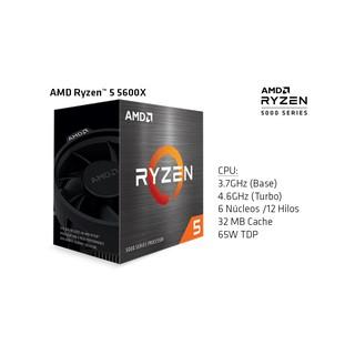 Bộ vi xử lí RYZEN 5 5600X RyzenTM 5 5600X Desktop Processors thumbnail