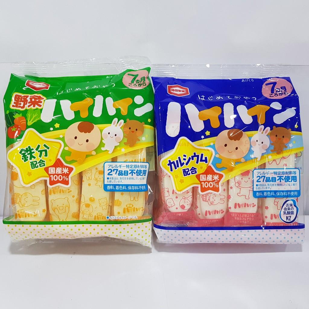 Bánh Gạo Tươi Haihain, Ganbare Nhật Bản (7m+) [HSD T1/2021]