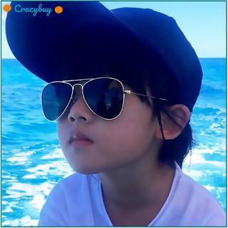 Stylish Kid Sunglasses UV Protection Goggles Sunglasses Color Film Eyewear Kids