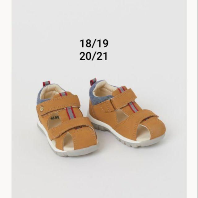 [Mẫu new] sandal nâu tây H&m chuẩn auth us cho bé trai