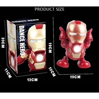 Iron Dance Toy – Đồ chơi mô hình Iron Man Dance Nhảy Múa TIKTOK
