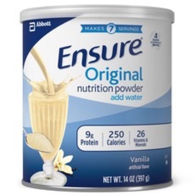 sữa ensure original (397g) HSD 2020