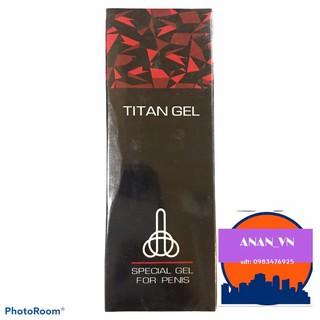 Gel Tital Nga Black @freeship@ hàng ruột đen cổ trắng chính hãng 100%