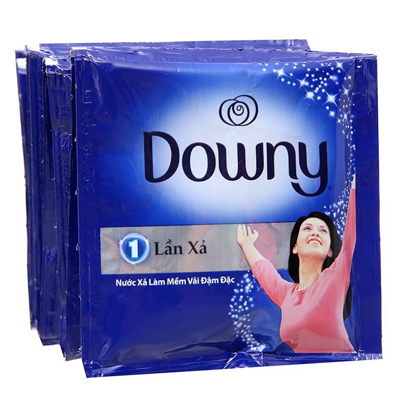 1 DÂY 10 gói nước xả vải Downy hương