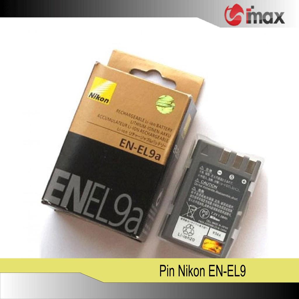 Pin máy ảnh Nikon EN-EL9a - Hàng nhập khẩu - 22913315 , 1418466504 , 322_1418466504 , 299999 , Pin-may-anh-Nikon-EN-EL9a-Hang-nhap-khau-322_1418466504 , shopee.vn , Pin máy ảnh Nikon EN-EL9a - Hàng nhập khẩu