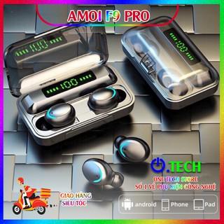 [Amoi F9 Pro] Tai Nghe Bluetooth Amoi F9 Pro 5.0 Bản Quốc Tế Cao Cấp – Cảm Biến Vân Tay, Chống Nước + Bụi – BH 6 tháng