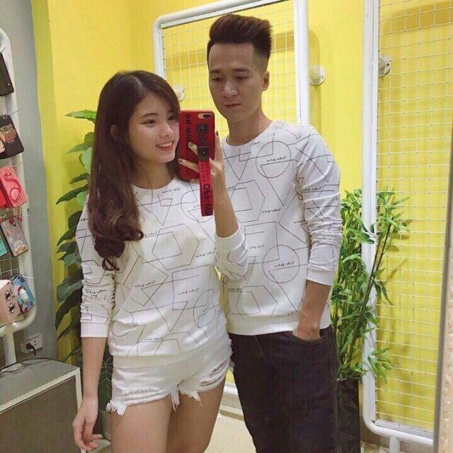 Áo tay dài cặp đôi thời trang SN074 ATD041
