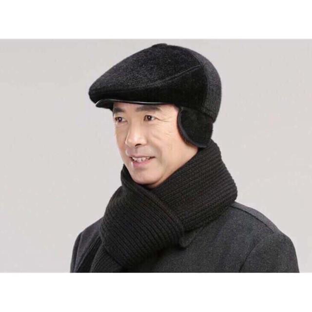 [HN] Mũ lông che tai gáy cho bố siêu ấm