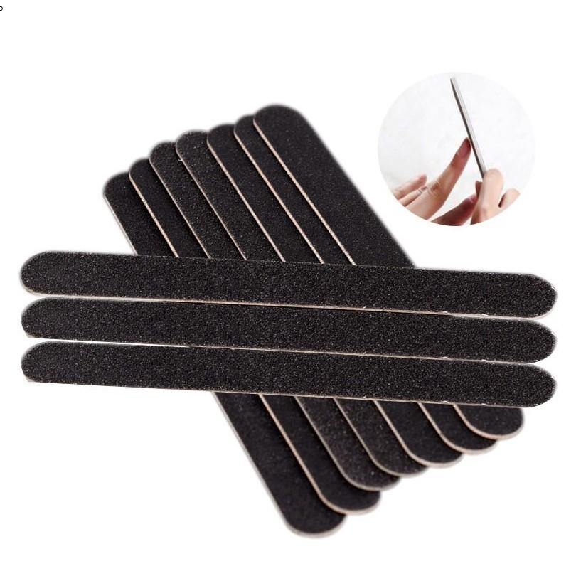 Combo 10 dũa móng tay ( màu đen)