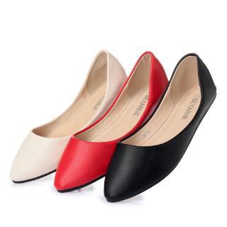 giày da màu trơn cho búp bê