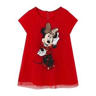 Váy đỏ mickey H&M