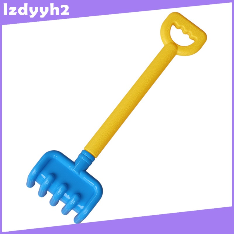 Superfeel 4pcs Sand Beach Kids Beach Toys Spade Shovel Rake Water Tools