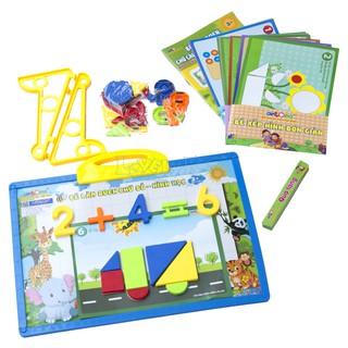 Bé làm quen Toán và hình học, Đồ chơi học tập dành cho bé