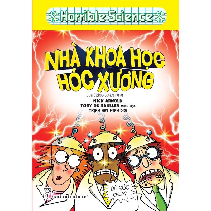 Sách - Horrible Science - Nhà Khoa Học Hóc Xương