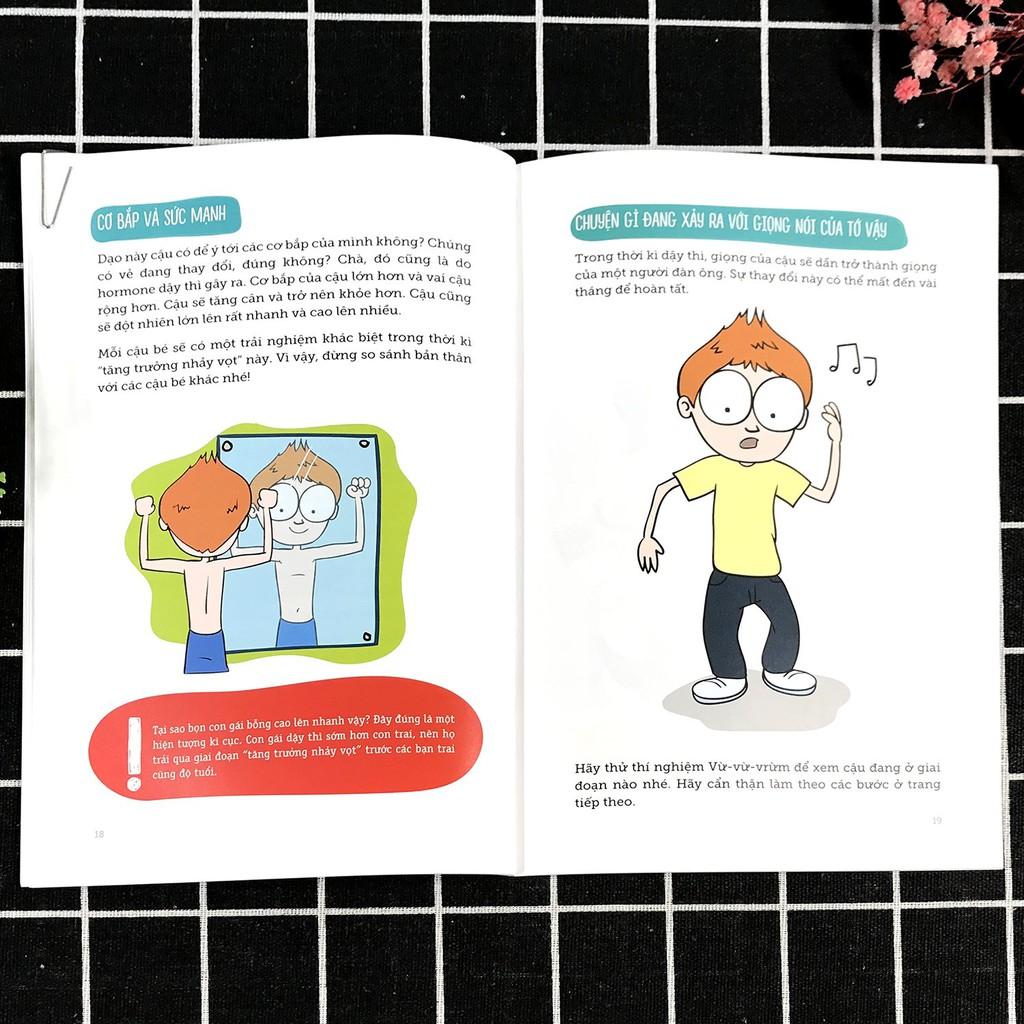 Sách - Cẩm Nang Giáo Dục Giới Tính - Nói Với Con Thế Nào Cho Đúng - I'm A Boy (6 - 15 tuổi)