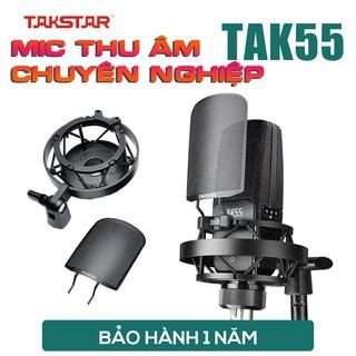 【Chính hãng】Mic thu âm chuyên nghiệp cao cấp Takstar TAK55 hát karaoke, livestream, bán hàng, micro