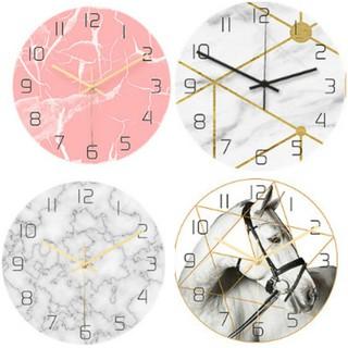 Đồng hồ treo tường kim trôi AOBA nhiều mẫu