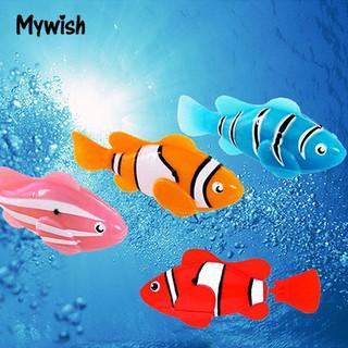 Cute Electronic Pets Toy Fish Tank Robot Fish Swimming Clownfish