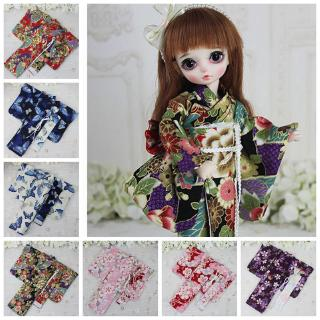 1/3 1/4 1/6 BJD SD Doll Clothes Kimono Cute accessories Japanese kimono Barbie skirt Various colors Dolls Accessories