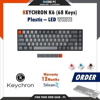 [ORDER] Bàn Phím Cơ Keychron K6 – Hàng chính hãng SiliconZ BH 12 Tháng