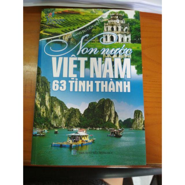 Sách _ non nước việt nam 63 tỉnh thành