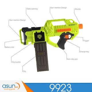 hộp đồ chơi Sung Bắn Đan Xốp Soft Gun 9923