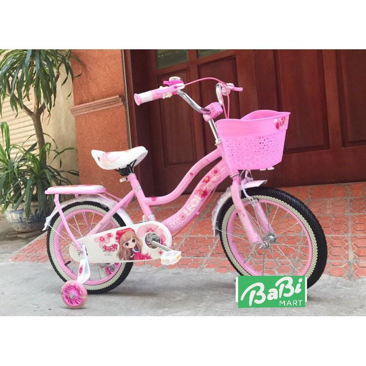 Xe đạp trẻ em nữ 26D - dành cho bé từ 2-8 tuổi - Hà nội HN