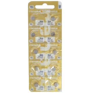 Pin Renata SR621SW - SR621 - 621 - 364 - AG1 - LR621 Dung Lượng Cao Của Thụy Sĩ - Pin Đồng Hồ Đeo Tay Cao Cấp thumbnail