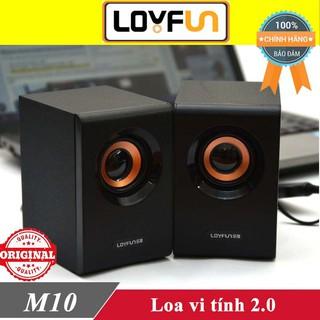Loa vi tính Loyfun LF-M10 chính hãng ♥️Freeship♥️ Loa máy tính Kisonli K-100