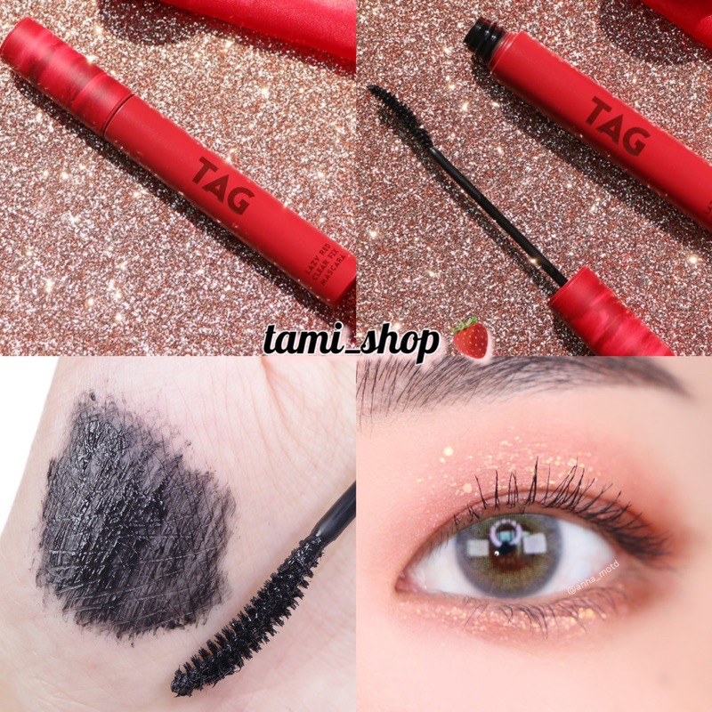 CHUỐT MI CHỐNG NƯỚC TOO COOL FOR SCHOOL LAZY RED CLEAR FIT MASCARA