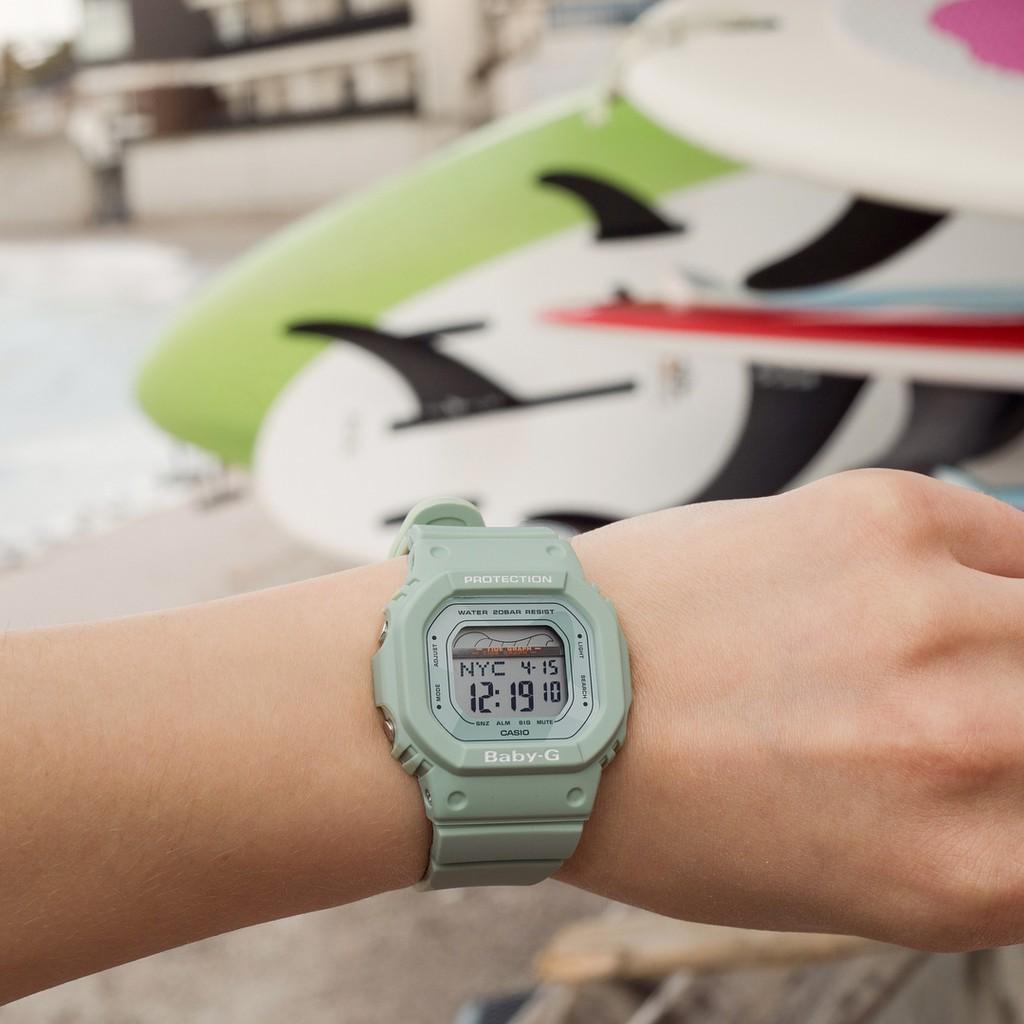 Đồng hồ nữ dây nhựa Casio Baby-G chính hãng Anh Khuê BLX-560-3DR
