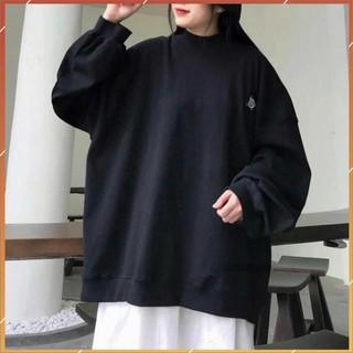 1hitshop Áo Sweater Bé Bo 2 màu kèm ảnh thật, áo sweater cổ lọ bé bo siêu cute